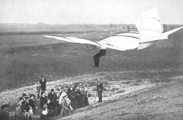 Otto lilienthal first gliders matchless